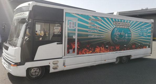 Liberty Saveurs food truck Mâcon. Food truck Crêches sur Saône. Food Truck Belleville sur Saône. food truck boeuf bourguignon plats traditionnels