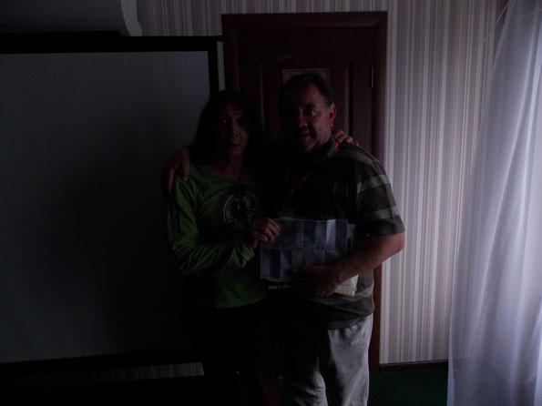 Богдан получил свой гороскоп и очень рад этому событию