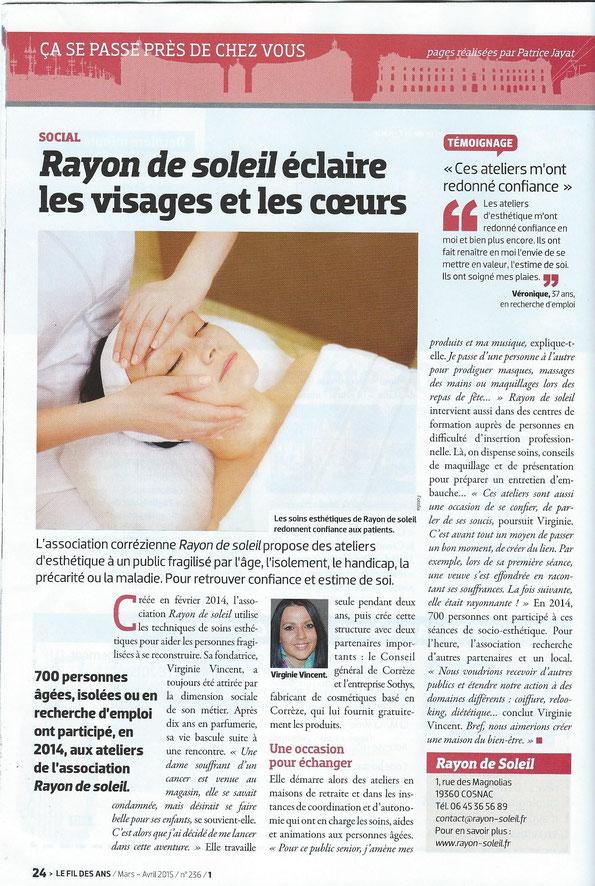 Magazine Le Fil des Ans