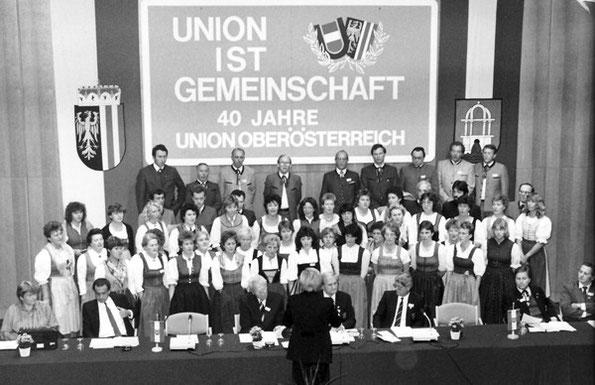 Festakt zu: 40 Jahre UNION OÖ