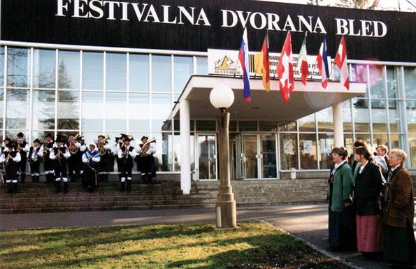 Chorfestival in Bled
