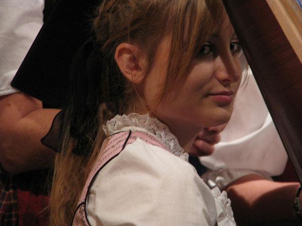 Christine Vesztergom, Harfe