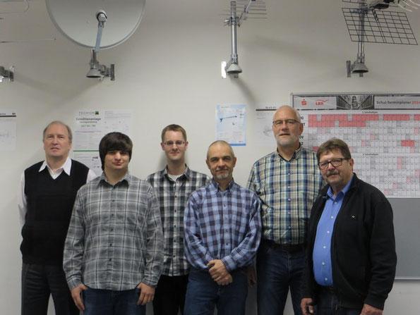 Bernd Kleinsteinberg, Tobias Pötzsch, Markus Hüttermann, Dirk Krause, Uwe Krüger und Wolfgang Zwicker.