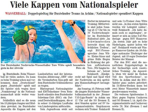 Neue Buxtehuder Wochenblatt vom 06.02.2013