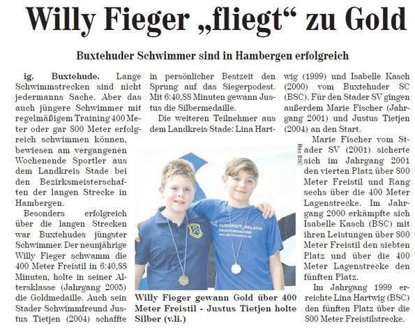 Neue Buxtehuder Wochenblatt vom 25.01.2015