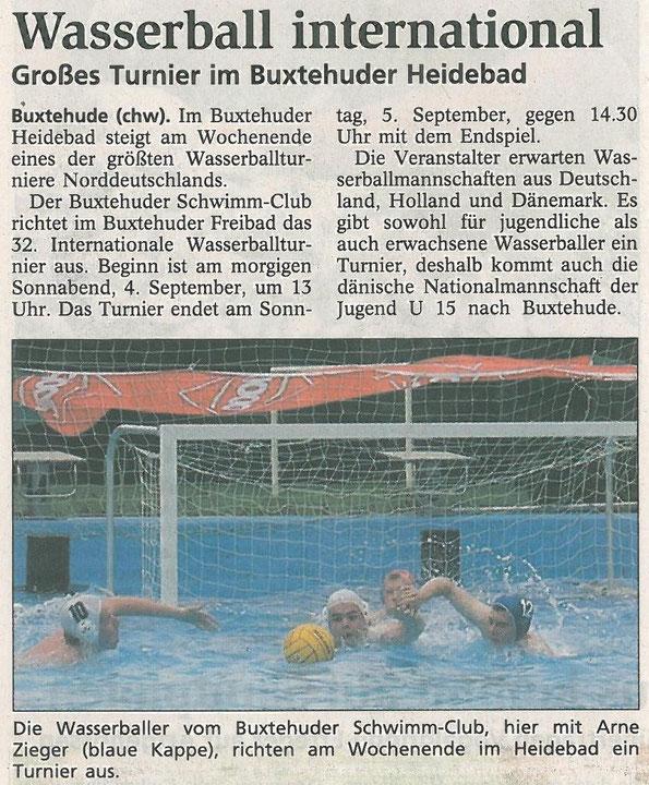 Buxtehuder Tageblatt vom 03.09.2004