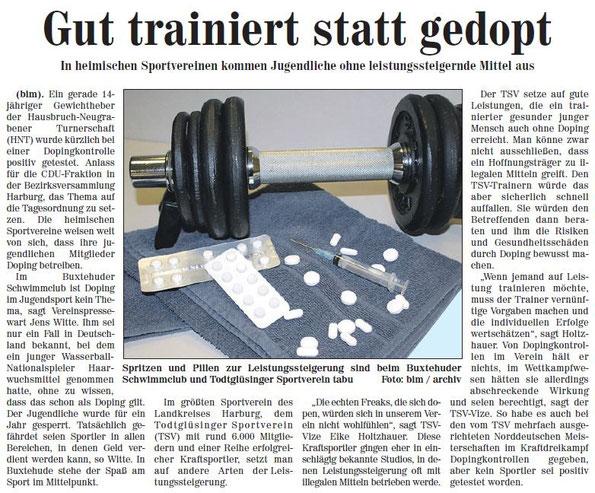 Neue Buxtehuder Wochenblatt vom 1.10.2011