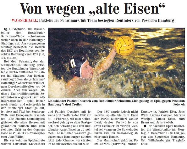Neue Buxtehuder Wochenblatt vom 03.12.2011