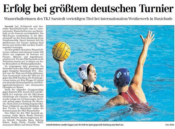 Hildesheimer Allgemeine Zeitung vom 13.09.2012