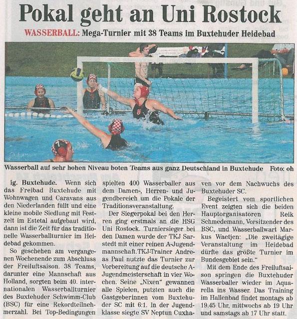 Neue Buxtehuder Wochenblatt vom 17.09.2011