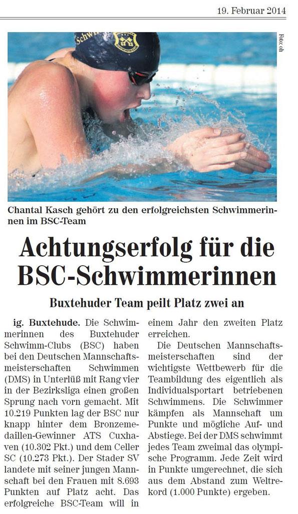 Buxtehuder Team peilt Platz zwei an