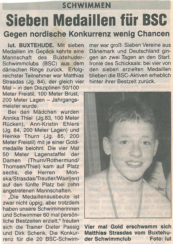 Neue Buxtehuder Wochenblatt vom 13.12.2000