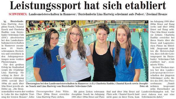 Neue Buxtehuder Wochenblatt vom 17.11.2012