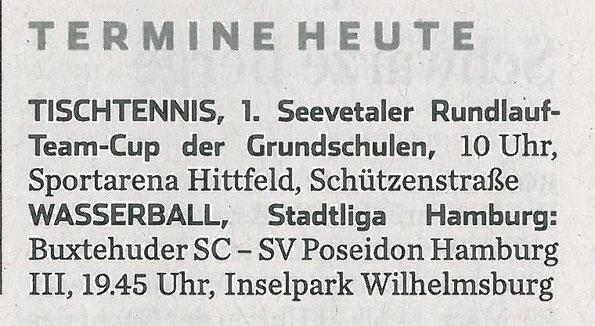 Hamburger Abendblatt vom 18.03.2014