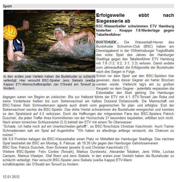 Buxtehuder Tageblatt - Onlineausgabe tageblatt.de (http://tageblatt.de/main.cfm?DID=2208461)
