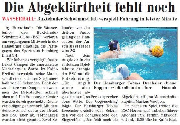 Neue Buxtehuder Wochenblatt vom 26.05.2012