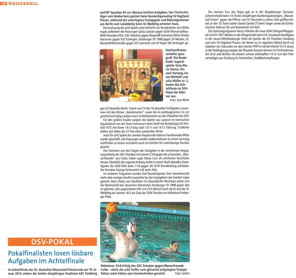 swim & more, Dezember 2013