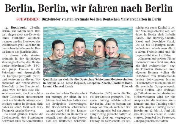 Neue Buxtehuder Wochenblatt vom 27.04.2013