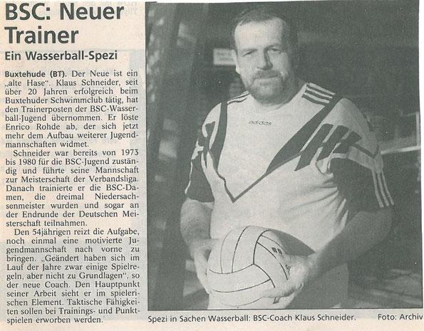 Buxtehuder Tageblatt vom 03.02.1999