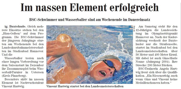 Neue Buxtehuder Wochenblatt vom 24.11.2013
