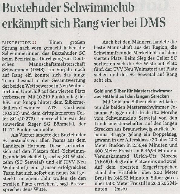 Hamburger Abendblatt vom 19.02.2014