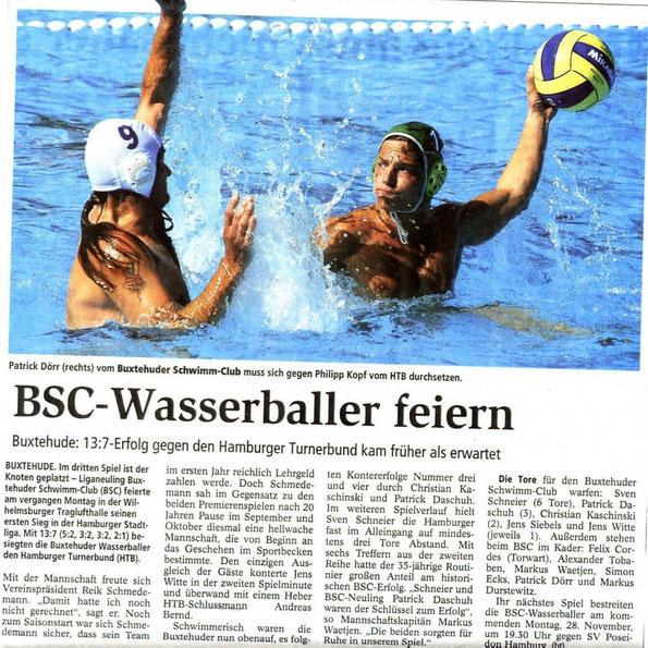 Buxtehuder Tageblatt vom 24.11.2011