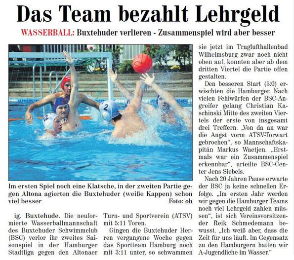 Neue Buxtehuder Wochenblatt vom 24.09.2011