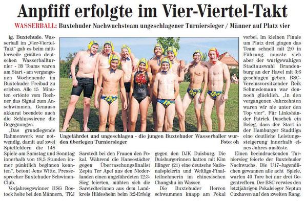 Buxtehuder Wochenblatt vom 15.09.2012
