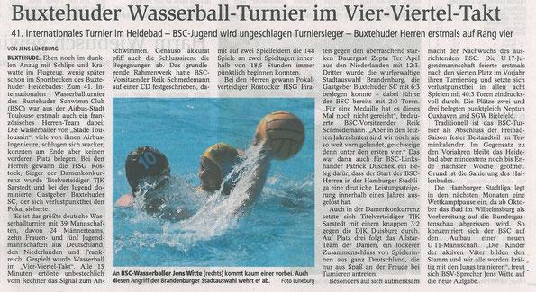 Buxtehuder Tageblatt vom 11.09.2012