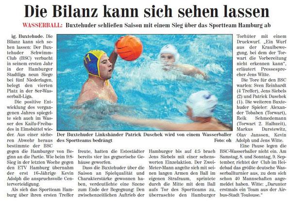 Neue Buxtehuder Wochenblatt vom 01.09.2012