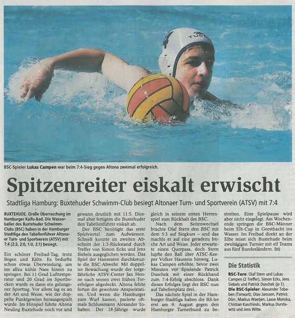 Buxtehuder Tageblatt vom 08. 06. 2012