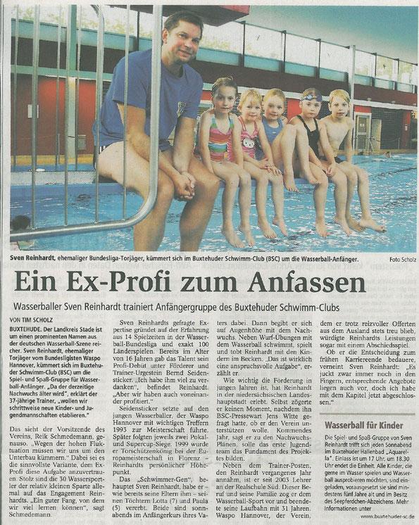 Buxtehuder Tageblatt vom 07.10.2011