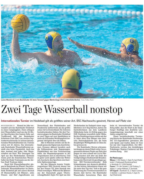 Hamburger Abendblatt vom 12.09.2012