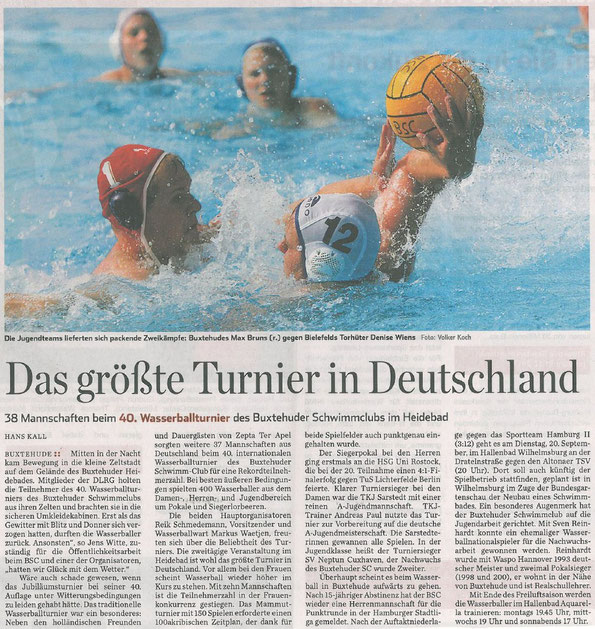 Hamburger Abendblatt vom 17.09.2011