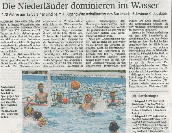 Buxtehuder Tageblatt vom 14.05.2014