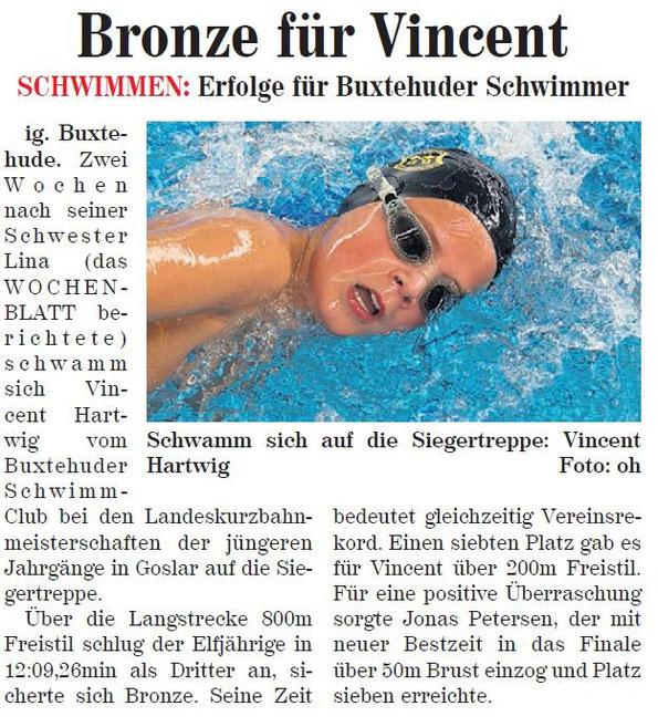 Vincent Hartwig holt Bronze über 800 m Freisteil