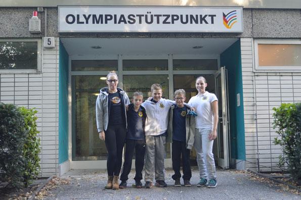 Das BSC-Team am Samstag v.l. Chantal Kasch, Luca Mattis Krämer, Willy Fieger, Jennis Meier und Isabelle Kasch (es fehlt Nelly Heinsohn)