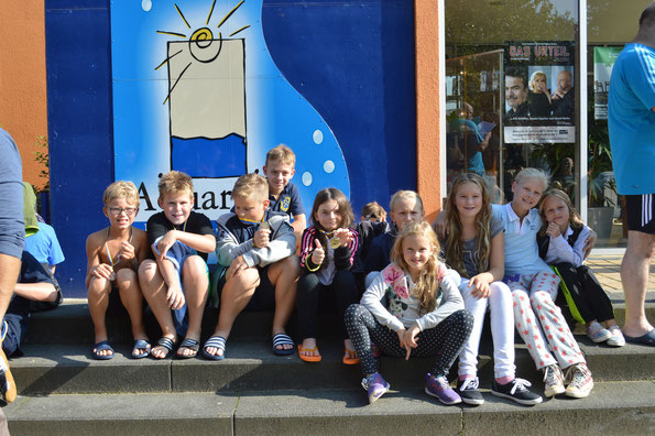 Die Buxtehuder Nachwuchsgruppe nach erfolgreich bestrittenem Wettkampf