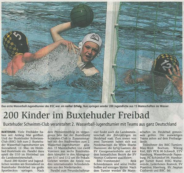 Buxtehuder Tageblatt 10.05.2012