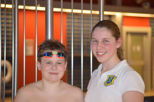 Willy und Isabelle bei den Landesmeisterschaften Lange Strecken