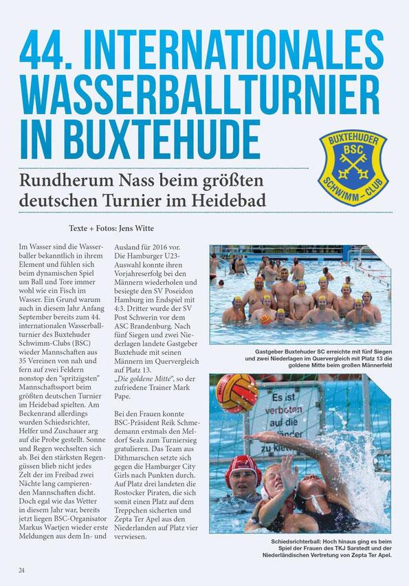 Lokalhelden Hamburg vom 18.09.2015: Wasserballturnier in Buxtehude