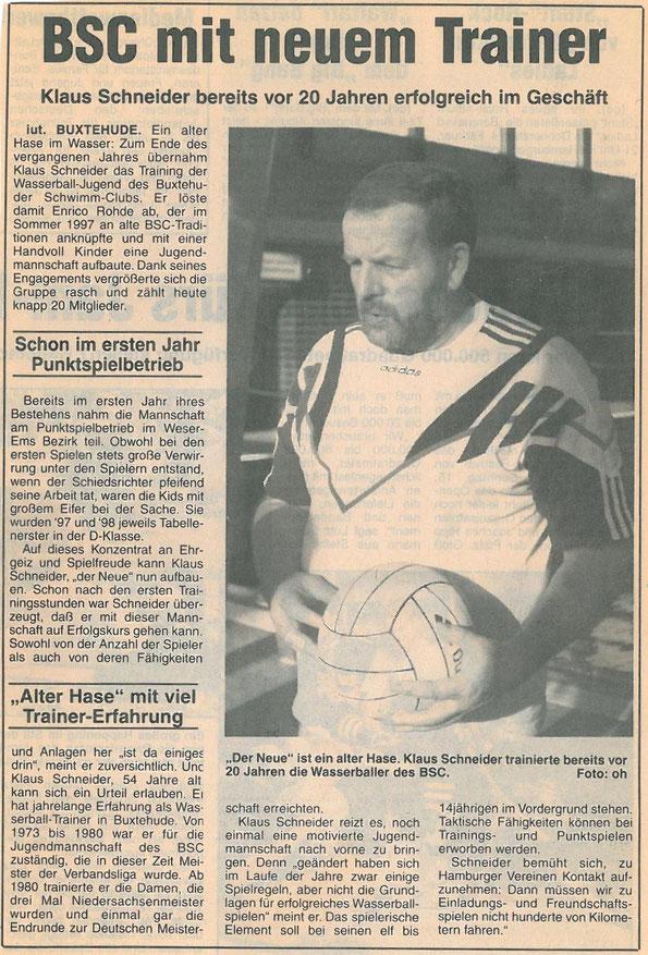 Neue Buxtehuder Wochenblatt vom 30.01.1999