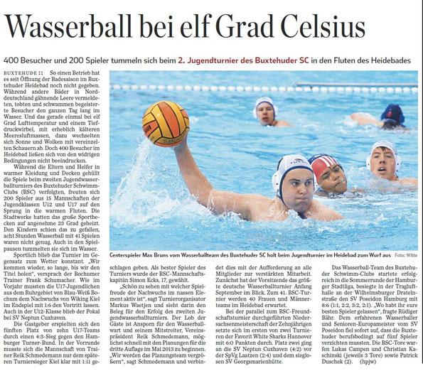 Hamburger Abendblatt 16.05.2012