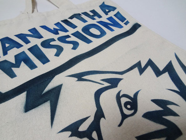 MAN WITH A MISSION,トートバック