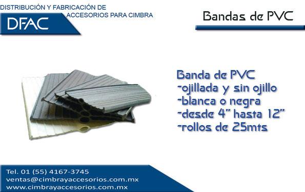 Bandas de PVC