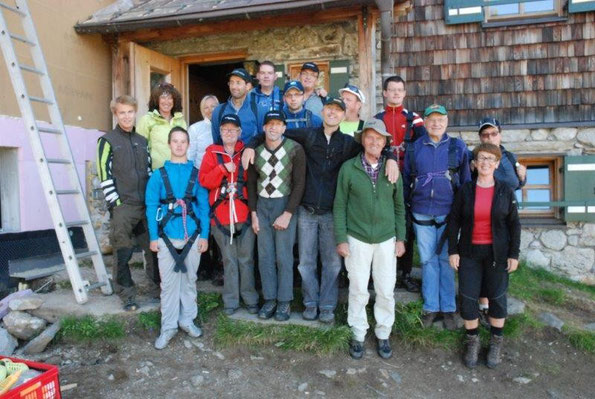 Die Lebenshilfe Salzburg, mit den Werkstätten Bramberg , Zell am See und Saalfelden waren zu Besuch auf der Warnsdorferhütte! Vielen Dank für den netten Besuch und wir freuen uns auf ein Wiedersehen!