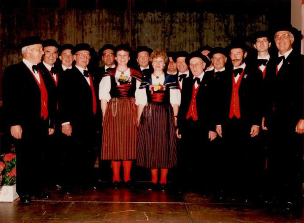 Eidgenössisches Jodlerfest in Brig 1987