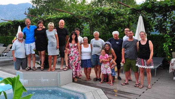 Ausflug Falkenclub 29. & 30. Juni 2019 Panarotta Levico See Florida Hotel
