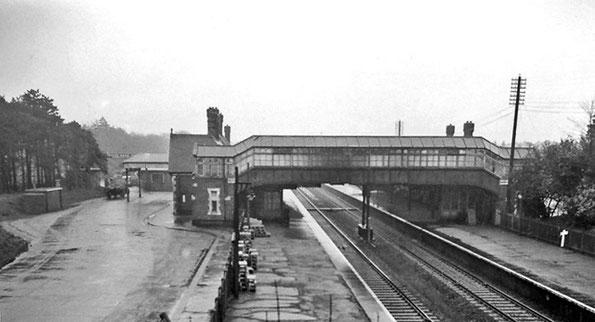 La stazione ferroviaria di Boscombe