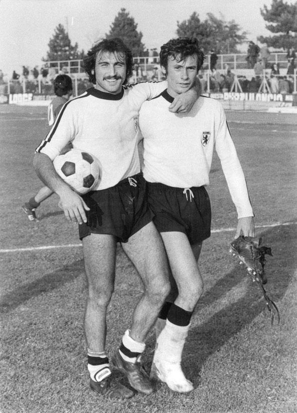 Allegrone Giuseppe (dx) con Simoniello Antonio